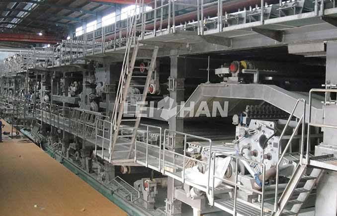 40TPD Kraft Paper Making Machine