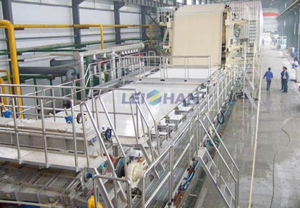 High-Grade Deinking Paper Making Plant