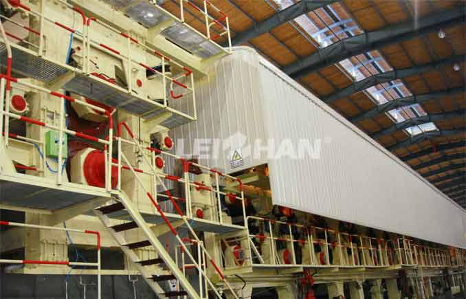 4600mm Corrugated Paper Making Line Machine