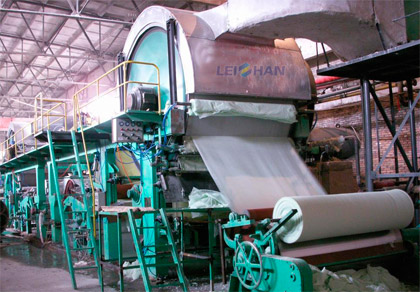 Tissue Paper Production Machine in Kazakhstan