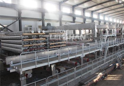 Brown Kraft Box Manufacturing Plant