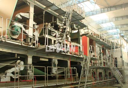 double-layer-wires-carton-paper-machine