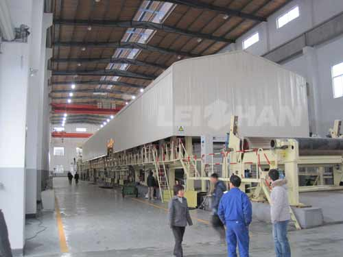 high-speed-corrugated-paper-machine