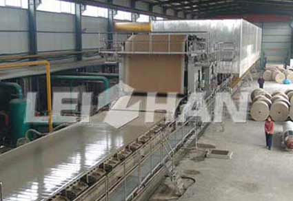 350tpd-fluting-testliner-top-white-kraft-paper-machine